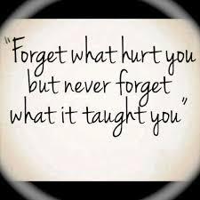 forget hurt