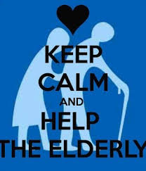 help the elderly