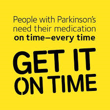 Parkinson's Pills On Time Please