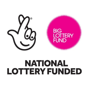 Lottery logo pink PRINT