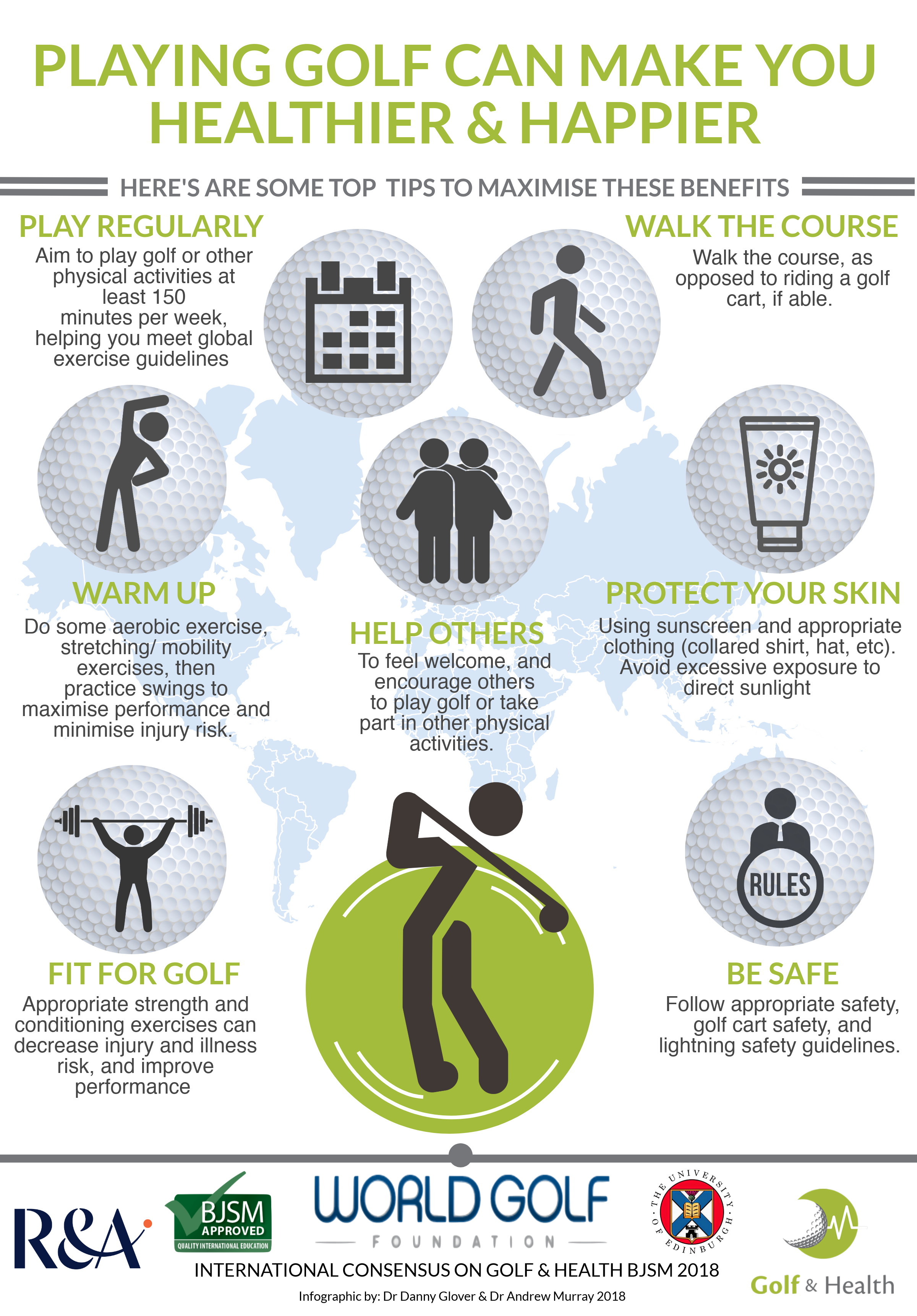 Infographic Golf-Health 1